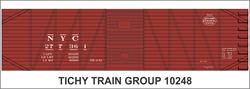 #10248-6N NYC 40' USRA SS BOXCAR DECAL 6 SETS