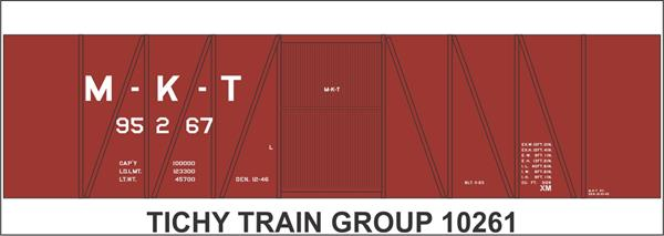 #10261S MKT 40' SS WOOD BOXCAR DECAL