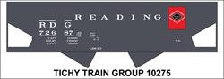 #10275-6S READING USRA HOPPER DECAL 6 SETS