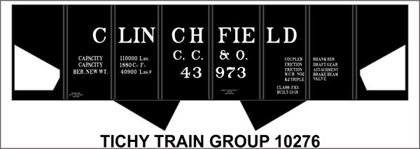 #10276 CLINCHFIELD USRA HOPPER DECAL