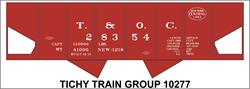 #10277-6N T&OC (NYC) USRA HOPPER DECAL 6 SETS