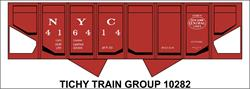 #10282-6N NYC USRA HOPPER DECAL 6 SETS
