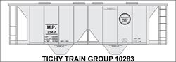 #10283-6S MP COVERED HOPPER DECAL 6 SETS