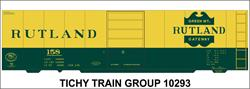 #10293 RUTLAND 40' STEEL BOXCAR DECAL