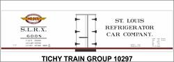 #10297-6N SLRX 40' WOOD REEFER DECAL 6 SETS