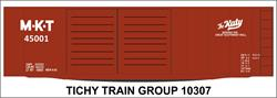 #10307-6N MKT 40' STEEL BOXCAR DECAL 6 SETS