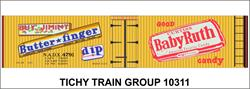 #10311-6N NADX BUTTERFINGER,BABY RUTH DECAL 6 SETS