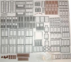 200 PC O SCALE ASSORTMENT