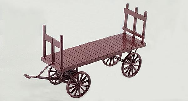 #8318 BAGGAGE WAGON 10 PCS