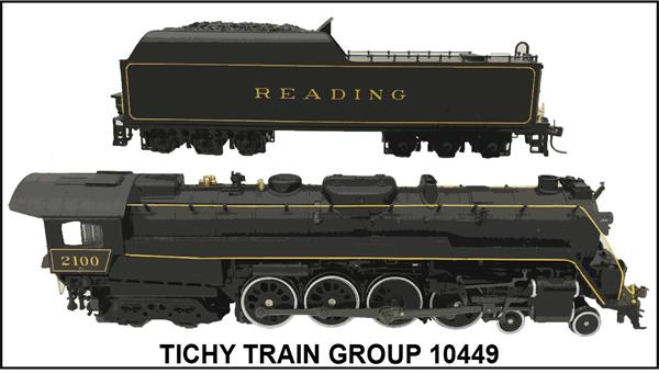 #10449N READING T-1 STEAM LOCOMOTIVE