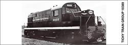#10389-6N NYC DIESEL SWITCHER DECAL 6 SETS