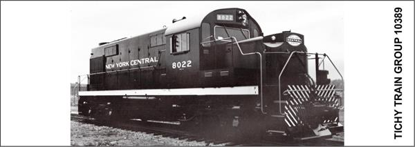 #10389S NYC DIESEL SWITCHER DECAL