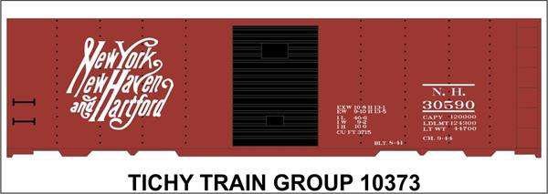 #10373S NH 40' STEEL BOXCAR DECAL