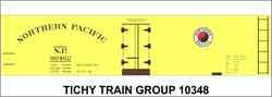 #10348-6O NP 40' WOOD REEFER DECAL 6 SETS