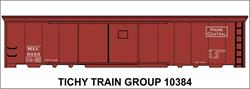 #10384-6S MEC 50' STEEL BOXCAR DECAL 6 SETS