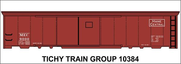 #10384S MEC 50' STEEL BOXCAR DECAL