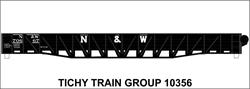 #10356 N&W 53' WAR EMERGENCY GONDOLA DECAL