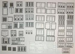 DOOR ASSORTMENT HO SCALE