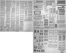 ARCHITECTUAL ASSORTMENT HO SCALE