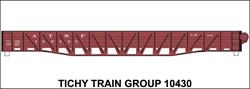 #10430-6S ATSF WAR EMERGENCY GONDOLA 6 SETS